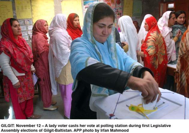 hunza elections women