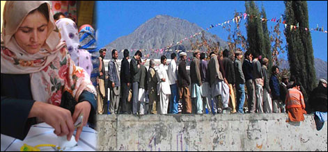 voting in gilgit 1
